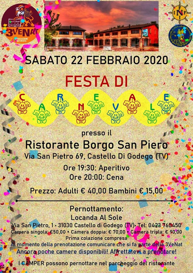 3VENAT - Festa di Carnevale  - Fenait