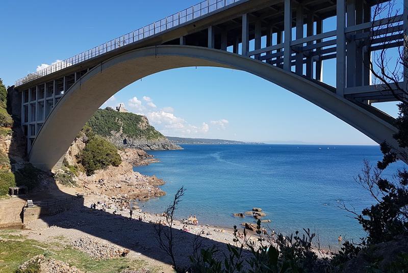 Spiaggia naturista di Punta Combara - Livorno